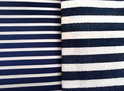 navy blue ribbed